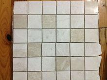 Beige Mosaic 4,8X 4,8 Mosaic Tiles Turkish Mosaics For Interior Walls Marble Mosaics Travertine Tiles Emperedor Mosaics Turkey