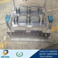 Custom PVC fence foot Plastic extrusion mold compression mold