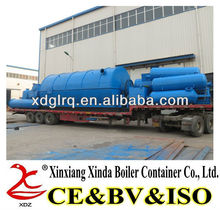 China made high oil yield old tyre oil extraction machine