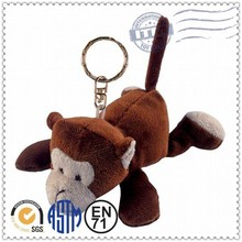 New product cute soft toy keychain monkey