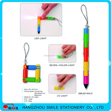 company advertising ballpoint pen on a rope