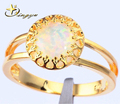 Chegada nova! Ouro chapeado jóia anel para 2015, novo design cor ouro anéis, alibaba express anéis China para mulher