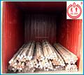 venta al por mayor de alta dureza laminado en caliente de acero al carbono barra redonda hecha en china