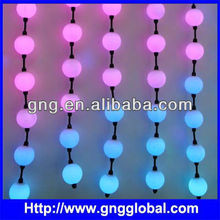 DMX hanging LED ball String Light,Stage Curtain Light,Colorful LED Ball