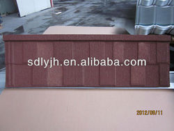 1340*420*0.40mm Shingel Colorful stone coated steel roofing tile