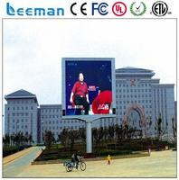 led outdoor display waterproof connector full color outdoor p10 led display led information sign display