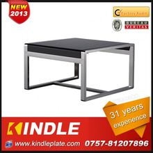 luxury small back glass top dining table for sale