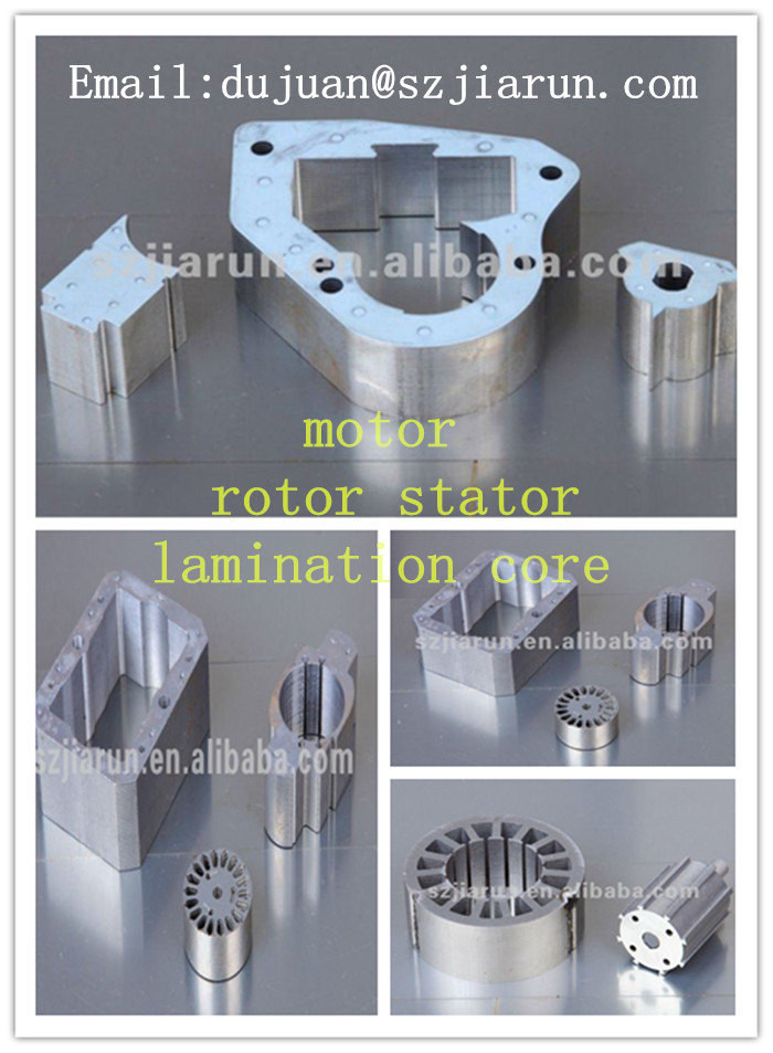 precision sheet metal stamping stepper motor rotor stator winding