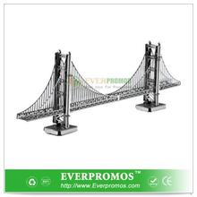 Metal Works 3D Model - Golden Gate Bridge For Brain Training