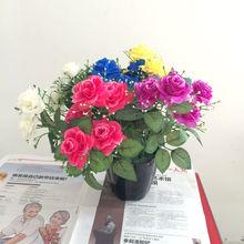 artificial plants artificial purple rose