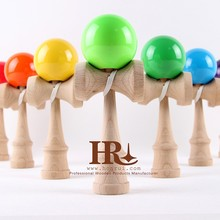 Honrui Custom Painting Japan Traditional Wooden Kendamas Toy Manufacturer From China