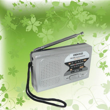 DK - 2016 OEM & ODM paint can shaped portable am fm radio