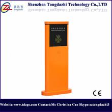 Car parking management single pole barrier gate with DC 24V barrier motor