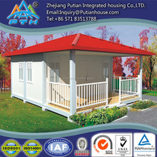 Steel structure prefab container home