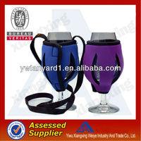 Custom fashion alcohol lanyard / water bottle holder lanyard made in china