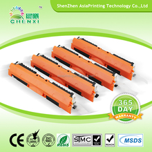 compatible for hp cf350/351/352/353 color toner cartridge in wholesale china