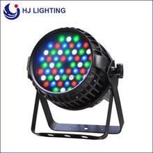 waterproof IP65 Classical led par light / 54x3w par led /led par 64 stage light