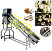 coconut water collection machine/coconut splitting machine/green coconut half cutter