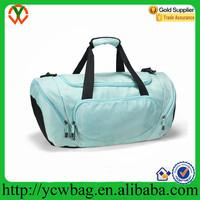 Wholesale Hot Blue Athletic Gym Bag Sport Shoulder Bag Duffel Bag