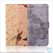 Retro World Map Pattern Leather Cover for Galaxy Note 5 Edge, For Samsung Galaxy Note 5 Edge Leather Flip Cover Case