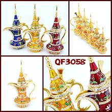 QF3058 wholesale home interior decoration Aladdin Lamp trade Metal souvenir gift item