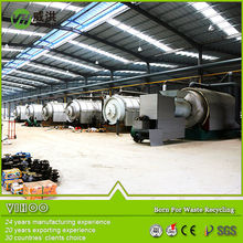 Used rubber oil refining machine/waste tyre recycling machine /tyre oil pyrolysis plant 0086 15639939630