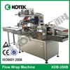 China Food Wrapper Factory Price Flow Packing Wrapping Machine Industrial Packaging Bread Cake Biscuit Bakery Equipment