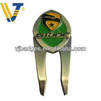 zinc golf pitch fork repair with magnetic ball marker