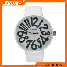 Simple character Style big word unisex watch wristwatch