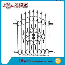 Metal product factory iron window grill design for sale