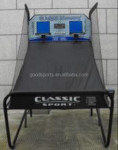 "1.5"" Steel Tube Portable Basketball Frame For Game w/ Backboard and Net"