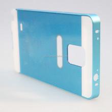 New design aluminum stand bumper phone case