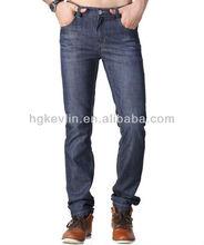 Venta al por mayor 2014 china 100% hombres de algodón de mezclilla pantalones vaqueros pantalones precio