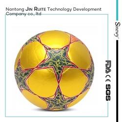 Promotional RealMadrid soccer ball/football mini size 1 2 3 4 5 brand logo custom print machine sewn TPU/PU/PVC leather material
