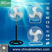 Calor impulsado estufa de madera fan / 3 1 ventilador de pie made in china