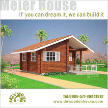 Prefab camping small leisure wooden house DYE-120