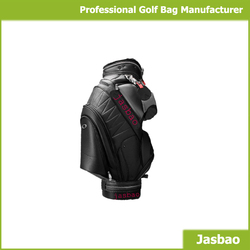 Waterproof Golf Cart Bags In High Quality With Genuine Leather