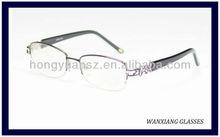 2012 Stylish Half Frame Silhouette Eyeglasses