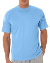 Custom white dri fit blank mens contrast collar o-neck t-shirt wholesale