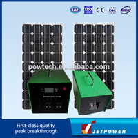 90w solar power system/compact solar power system/TV Solar power system