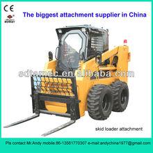 skid loader pallet fork (skid loader attachment,bobcat attachment)
