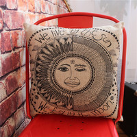Hot Sale Egyptian Style Pattern Cushion Decor Pillows Tolix Chair Cool Pad