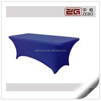 2014 New Design Rectangular Wholesale Spandex Tablecloth