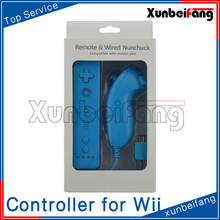 For Wiimote Remote and Nunchuck Controller Set for Nintendo Wii Game