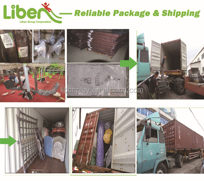 Reliable package&shipping of Liben outdoor fitness gym equipment