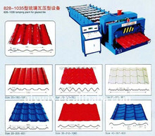 New verified long span roll forming machine double in tile making machinery