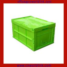 330 Top Quality Plastic Storage Folding Solid Box