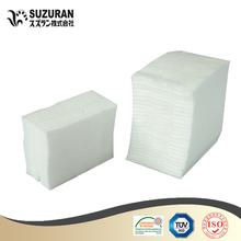 Square cosmetics pads 8cmx8cm 200gsm very good cotton pads