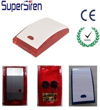 LED Strobe Flash Outdoor external armored Siren Security Siren Strobe Alarm Audible and Visual alarm for Burglar Home Alarm