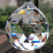 Feng Shui Crystal Ball, Large Faceted Crystal Ball